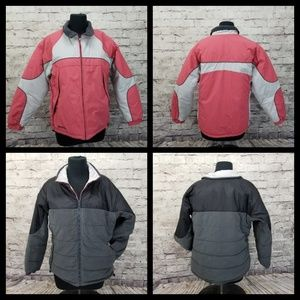 Columbia Insulated Reversible Snow Jacket ski